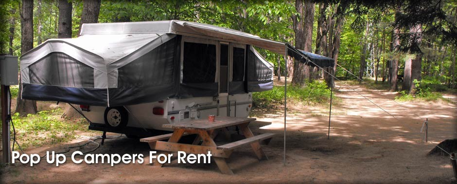 Pop Up Campers for Rent