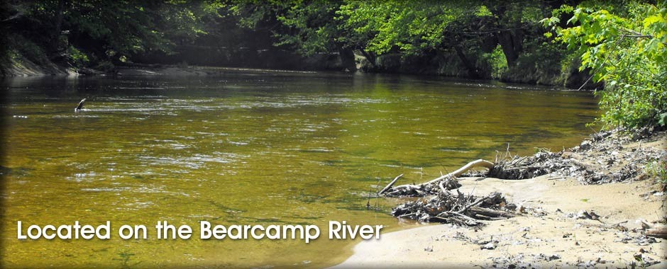 Located on the Bearcamp River